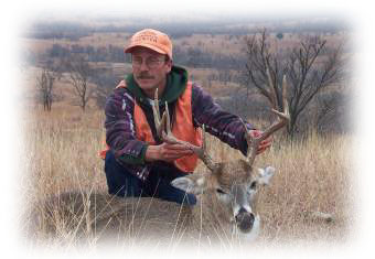 Kansas deer hunting with Flint Hills Adventures.
